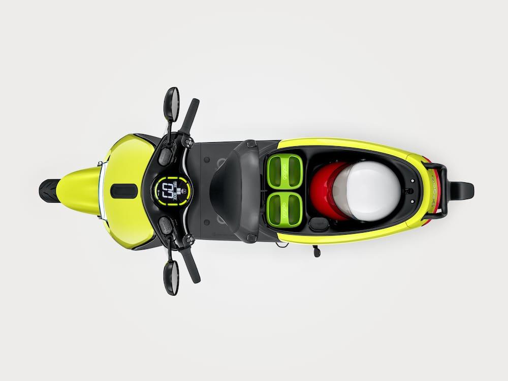 Scooters eléctricos con baterías intercambiables