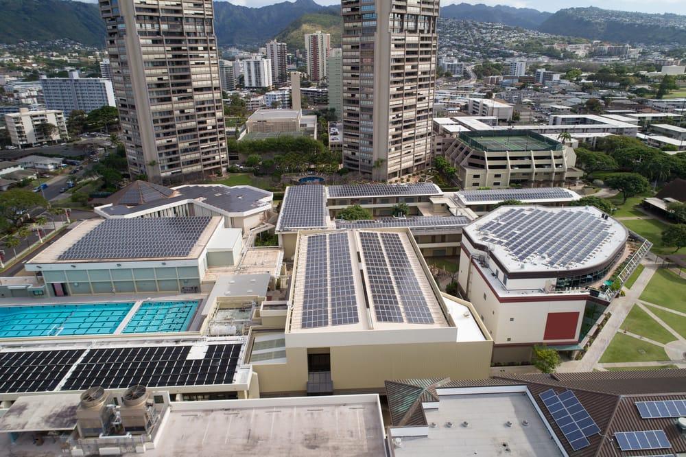 Tejados solares en Hawaii