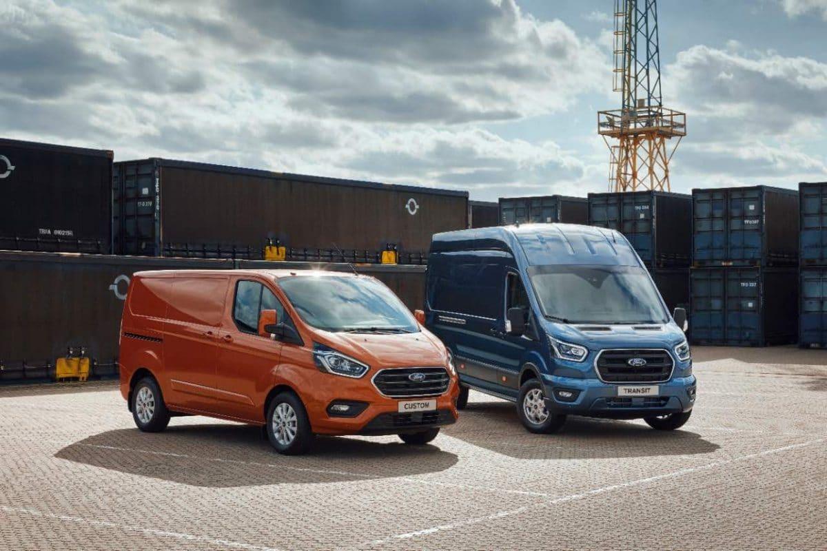 Ford presenta Transit Custom PHEV y Transit mHEV