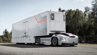 Volvo Trucks Vera, un camión 100% eléctrico y autónomo sin cabina