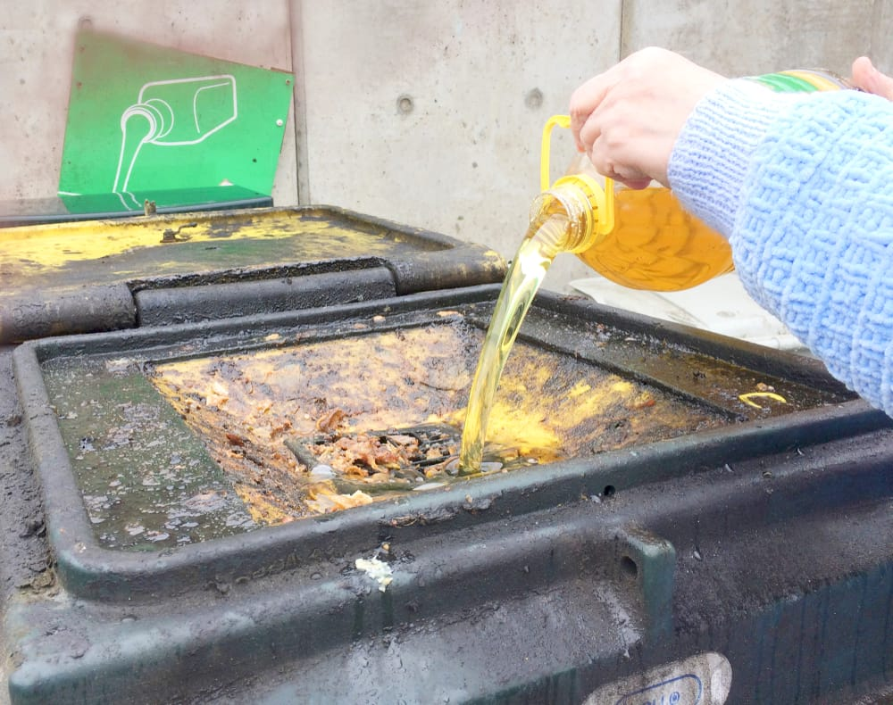 El aceite de fritura usado tendrá una nueva vida como bioplástico natural
