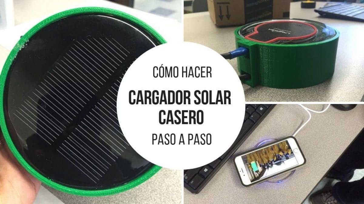 Cómo hacer un cargador solar inalámbrico