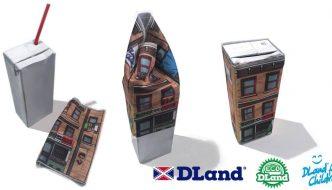 Dland toys convierte envases usadosen curiosos juguetes