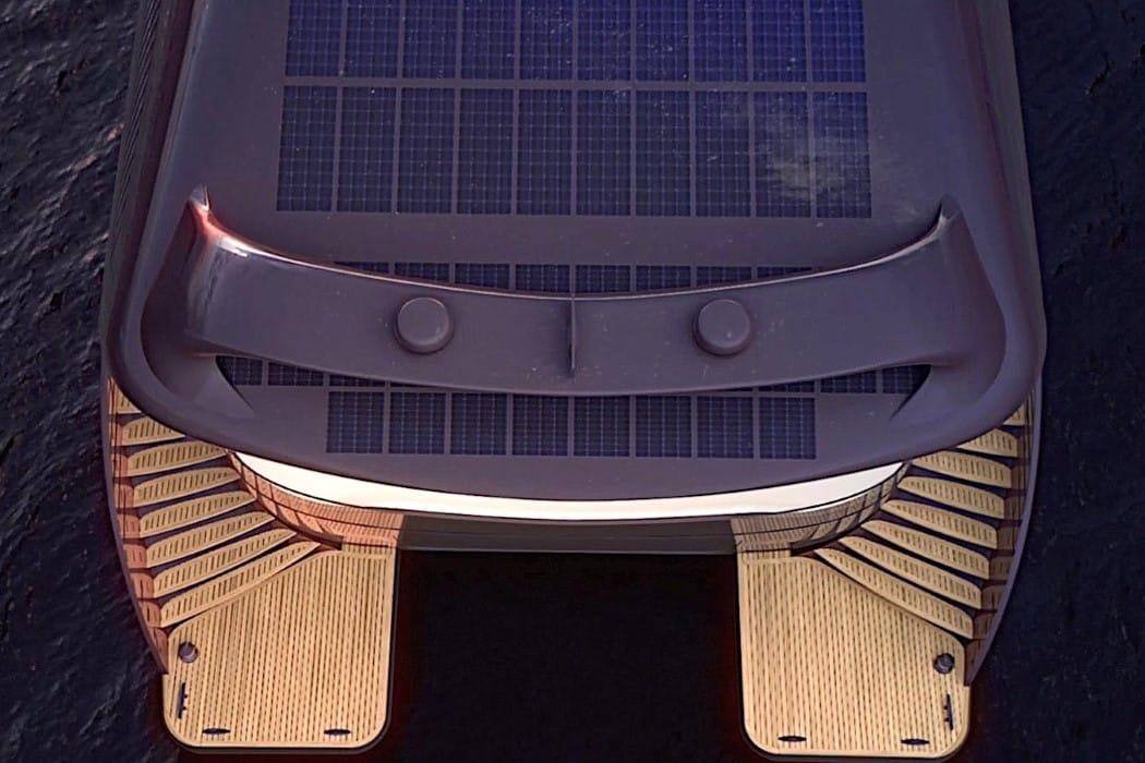 SolarImpact yate eléctrico solar
