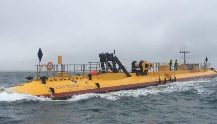 La turbina que puede revolucionar la energía mareomotriz