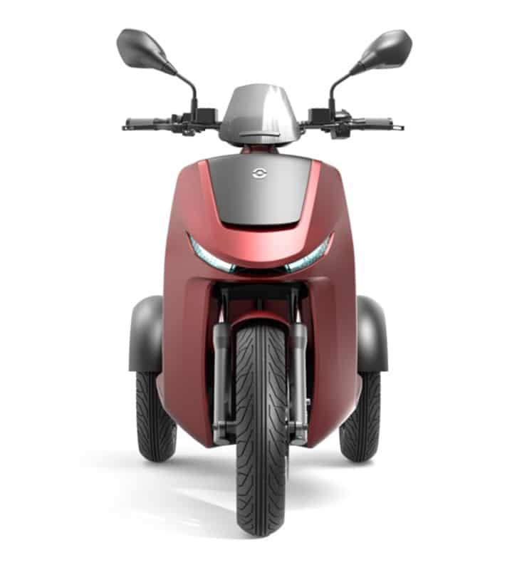 EEZON E3, la moto eléctrica de tres ruedas