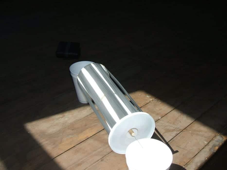 Cómo hacer un motor solar térmico paso a paso