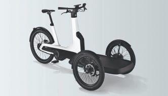 La bicicleta eléctrica de Volkswagen capaz de transportar hasta 210 kg