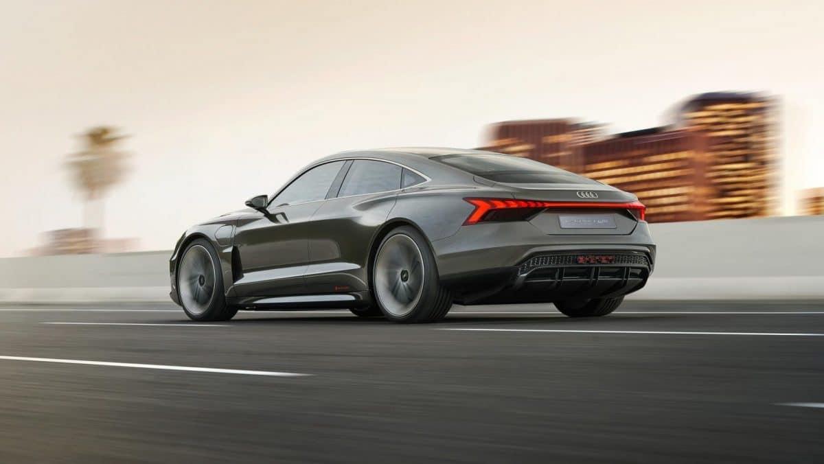 Audi e-tron GT vista trasera