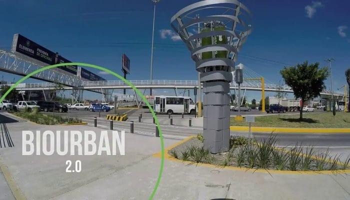 Biourban, tecnología 100% mexicana para purificar el aire con microalgas