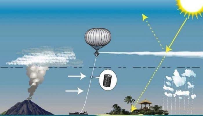 """Geoingeniería. Van a lanzar un """"filtro solar"""" en la estratosfera para enfriar la Tierra"""
