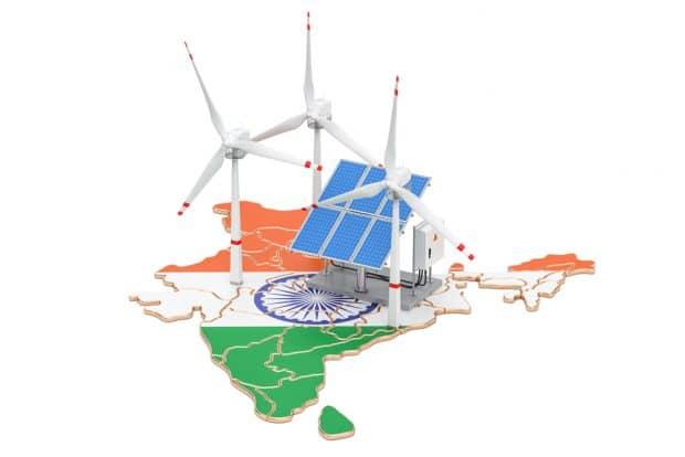 Energías renovables India