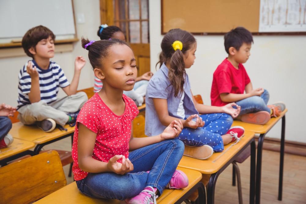 Image result for usa escuelas meditacion