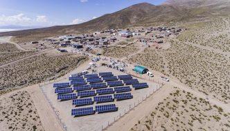 Inaugurado el primer Pueblo Solar de Argentina