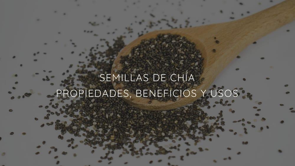 Semillas de chía: Propiedades, beneficios y usos