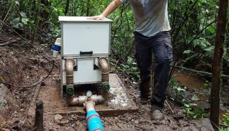 Brasileños crean microcentral hidroeléctrica capaz de abastecer 5 casas