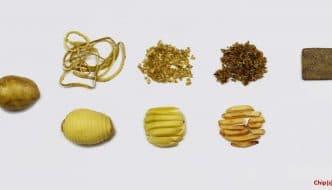 Las cáscaras de patata ofrecen una alternativa sostenible a los materiales de construcción tradicionales