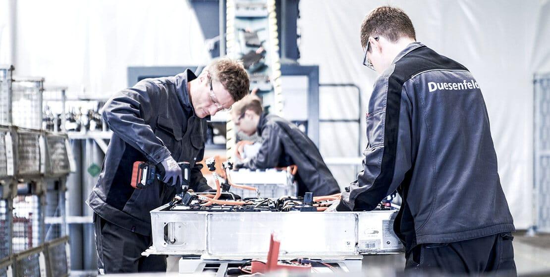 Amazon entra en el negocio del reciclaje de baterías de coches eléctricos