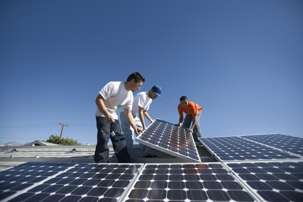 Instalando-placas-solares
