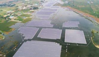 Se activa en China el sistema fotovoltaico flotante más grande del mundo