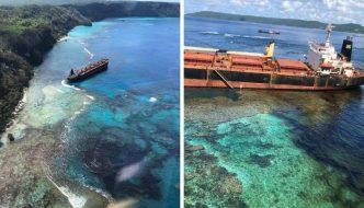 Desastre en el Pacífico: un petrolero derrama toneladas de crudo cerca de un lugar protegido por la UNESCO