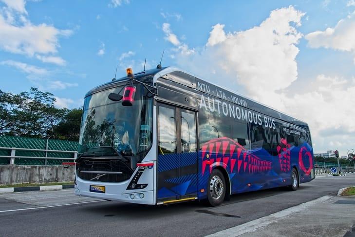 Volvo-bus-electrico-autonomo-singapur