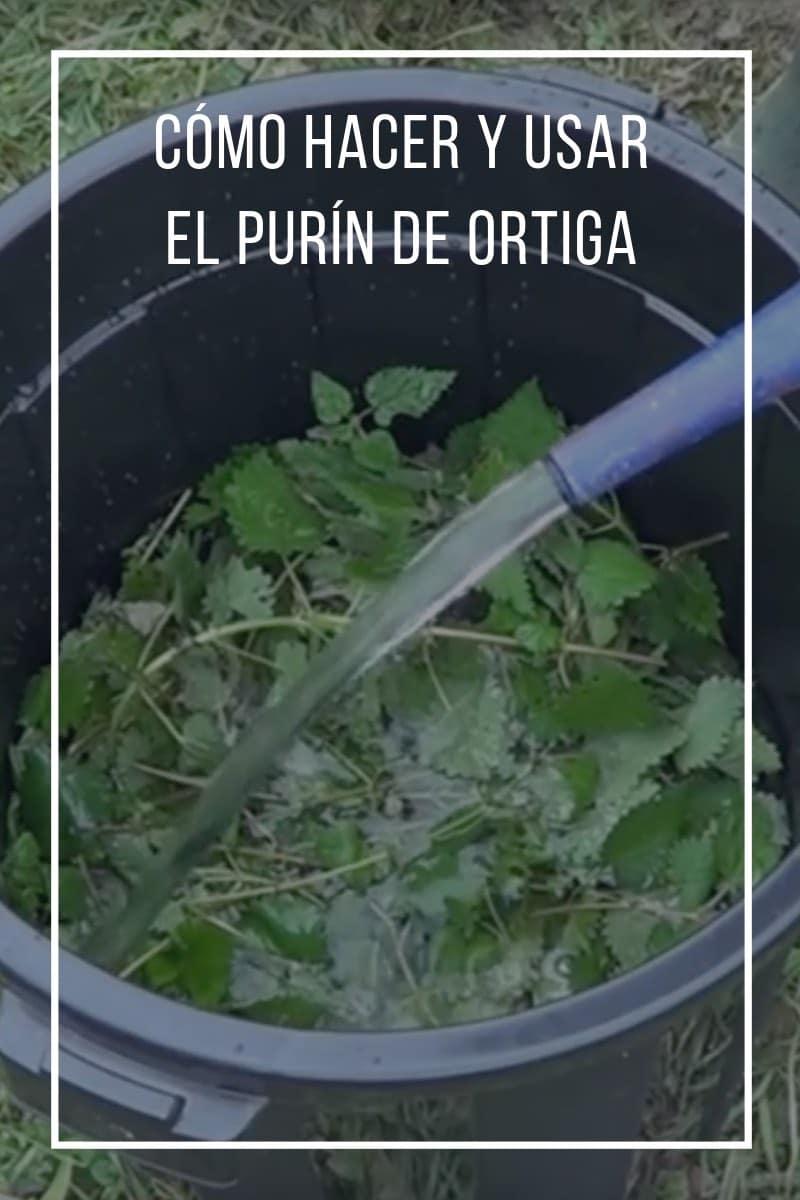 Cómo hacer y usar el purín de ortiga