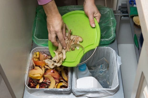 Separación por tipo de residuo