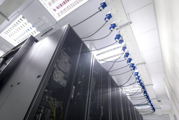 Interior de un data center