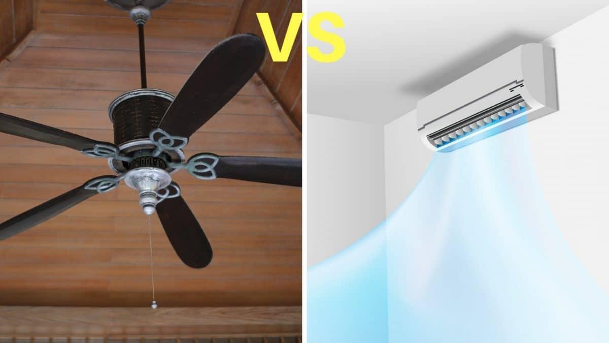 ¿Ventilador o aire acondicionado?