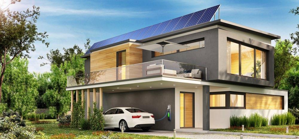 Casa-solar-coche-electrico