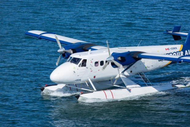 Aterrizaje Hidroavion-Harbour-Air