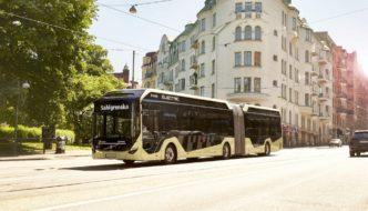 Volvo presenta su nuevo autobús eléctrico articulado para 150 pasajeros