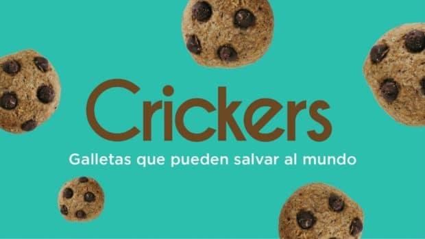 Crickers, galletas de grillo con chocolate para ayudar al planeta