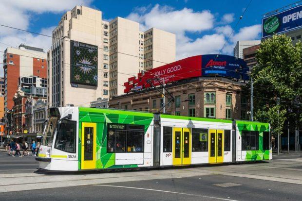 Tranvía calles Melbourne