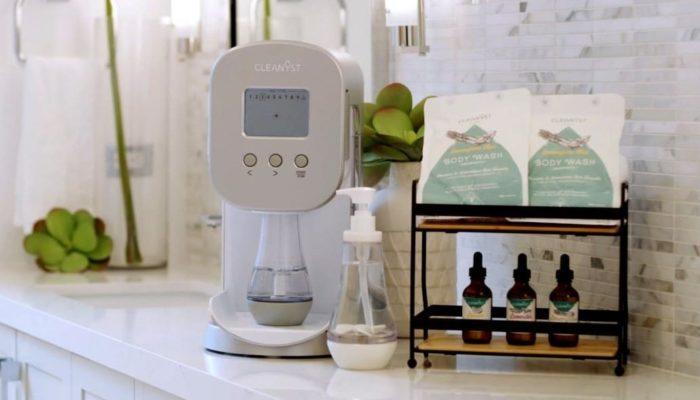 Cleanyst, máquina para hacer champús, geles y jabones líquidos caseros