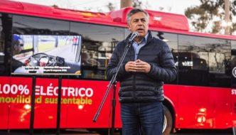 Mendoza lanza la primera flota de autobuses eléctricos de Argentina