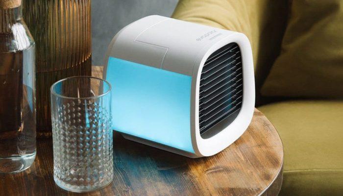 Evapolar evaCHILL. El aire acondicionado portátil que funciona con agua y cabe en una mochila