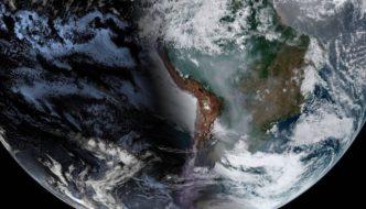 El humo de los incendios cubre las ciudades brasileñas