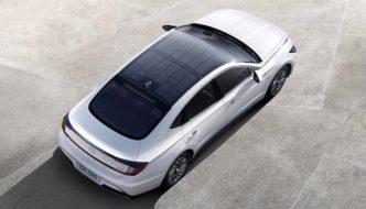 El nuevo techo solar de Hyundai proporcionará 1.300 km de conducción gratis al año