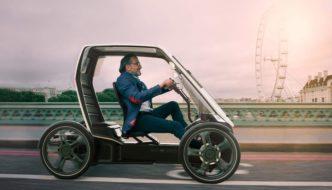 Bio-Hybrid, un cuatriciclo híbrido diseñado para las ciudades del futuro