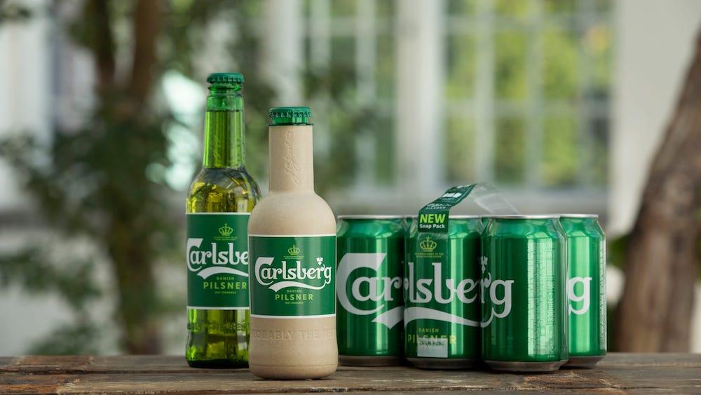Paper-beer-bottle