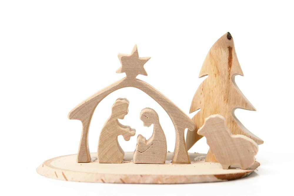 Belén de madera