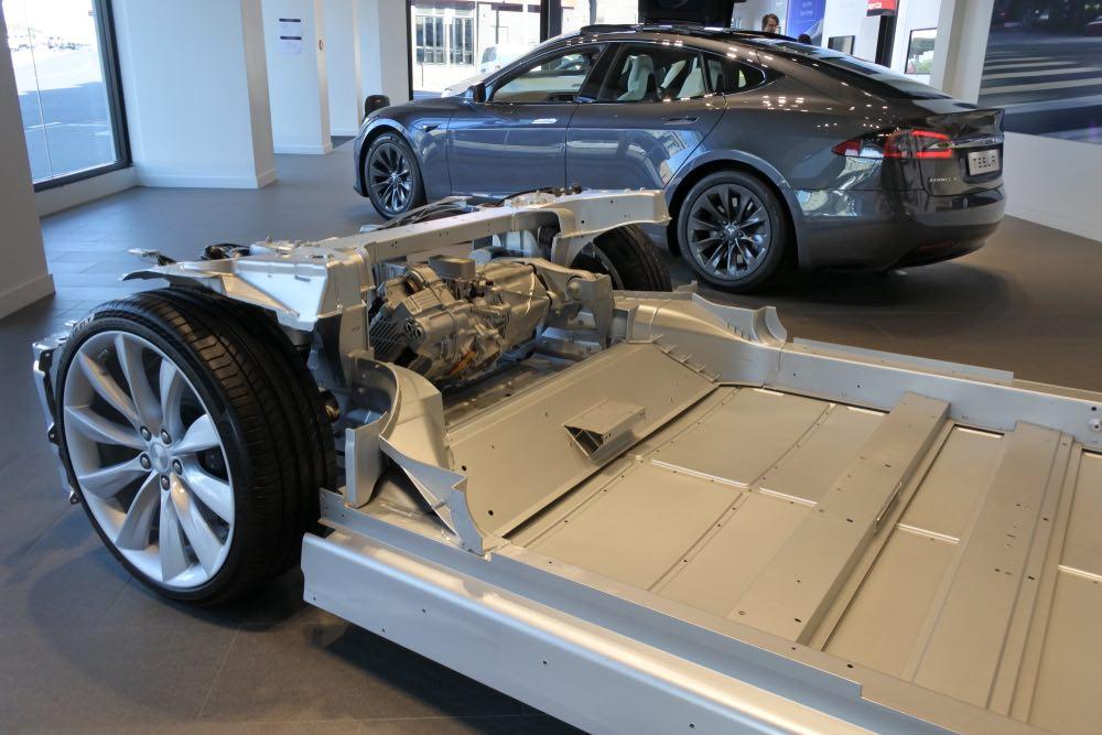 Chasis Tesla Model X