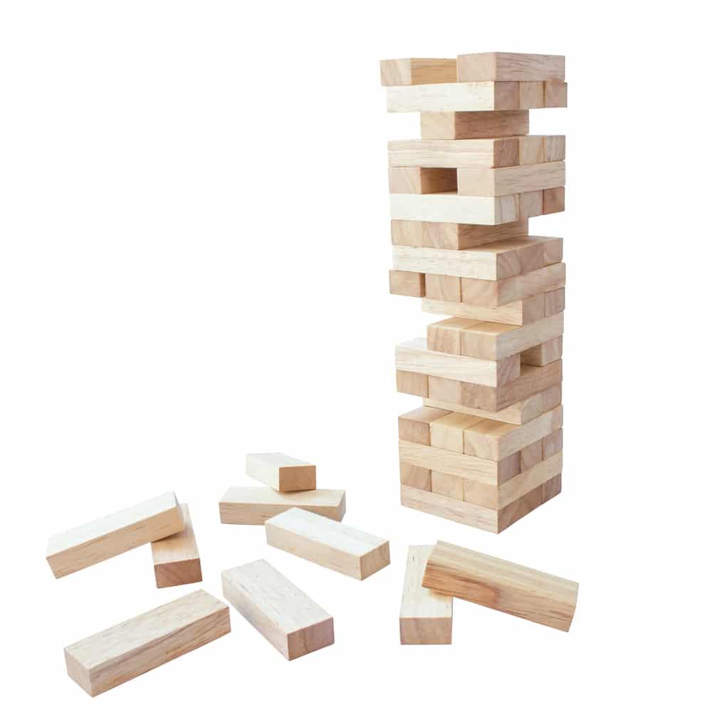 Juego de mesa madera