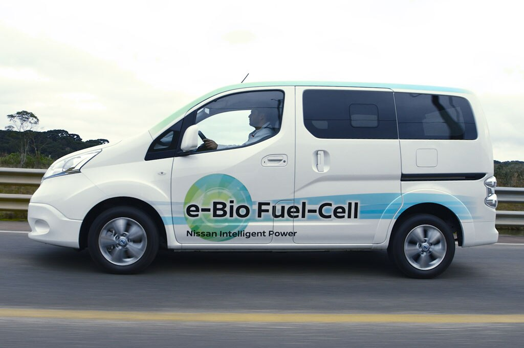 Biofuel-cell-nissan-brasil