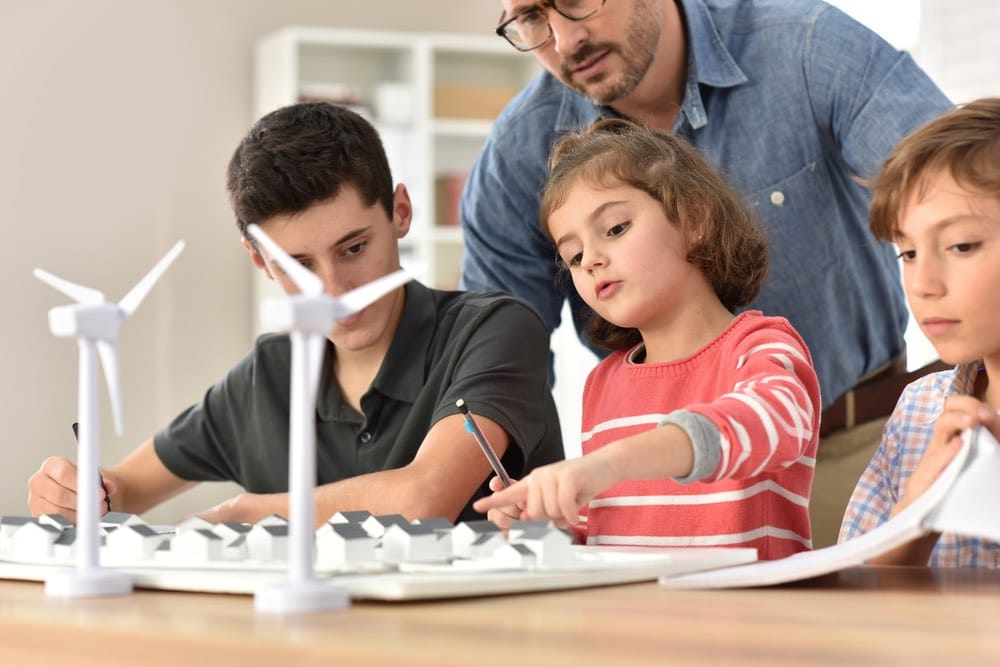Energías renovables para niños