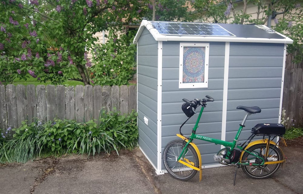 Cobertizo-solar-bici-electrica