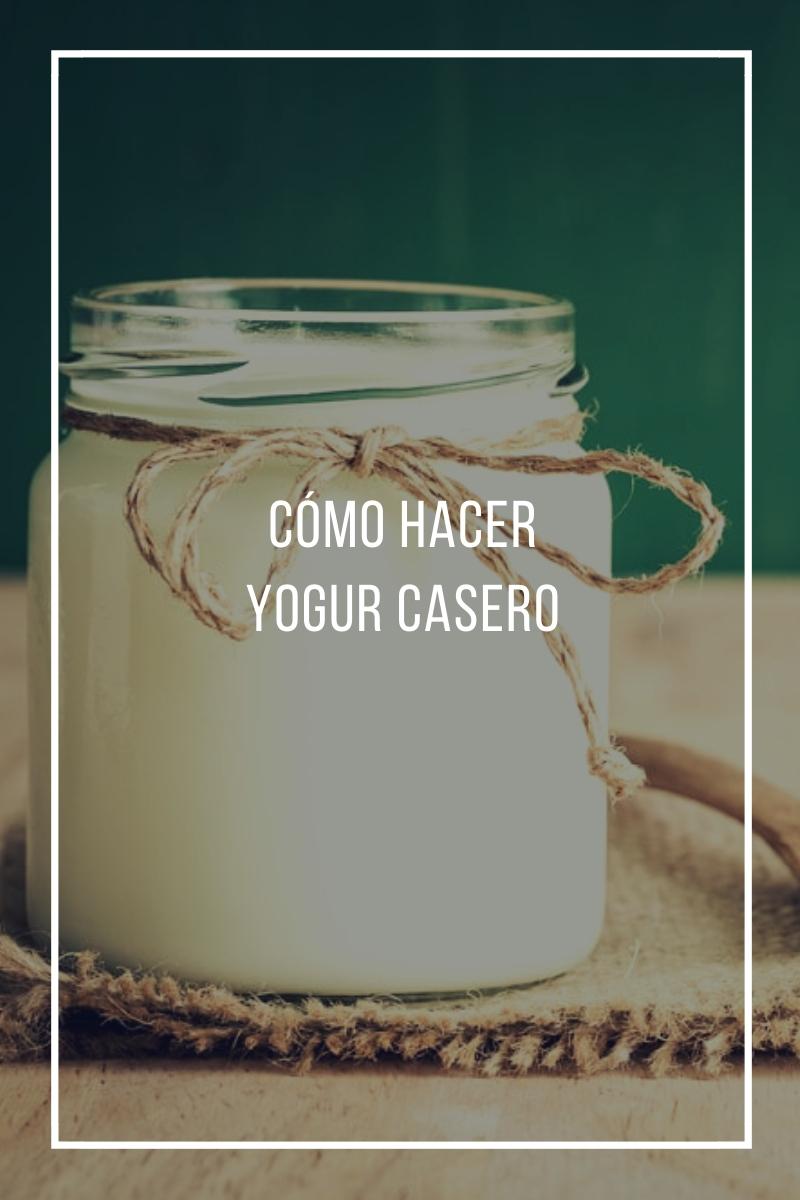 Cómo hacer yogur casero
