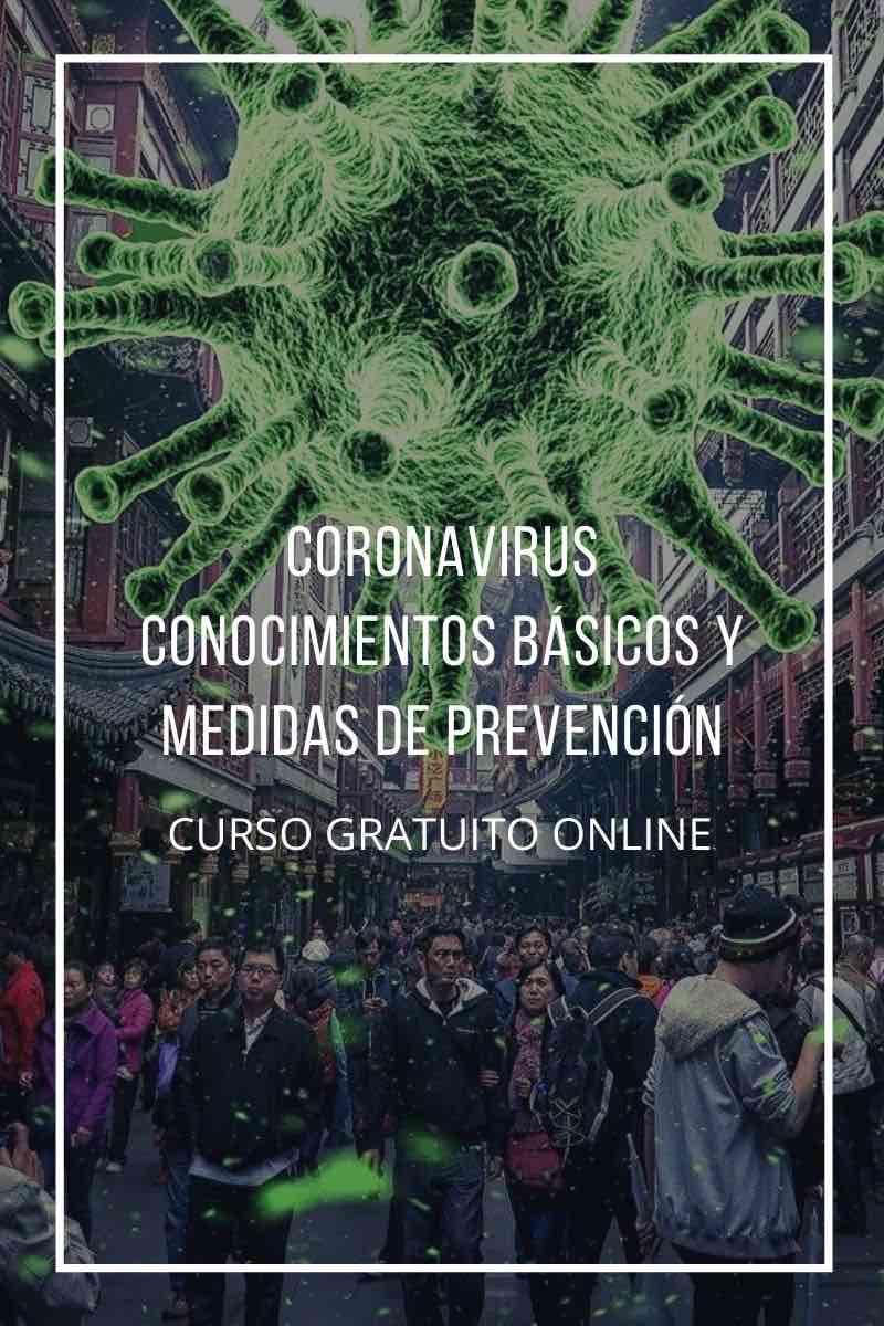 Curso online gratuito Cruz Roja: Coronavirus: Conocimientos básicos y medidas de prevención